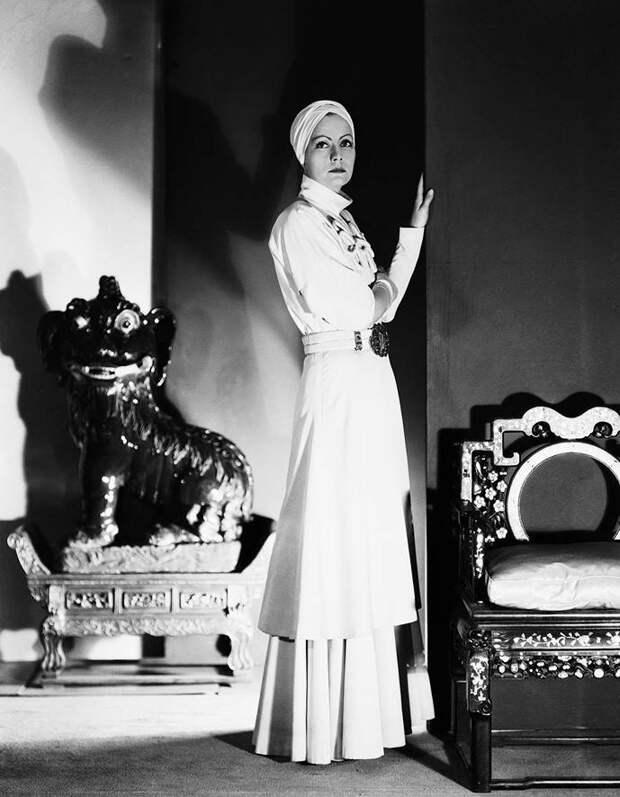Грета Гарбо. «Разрисованная вуаль», 1934