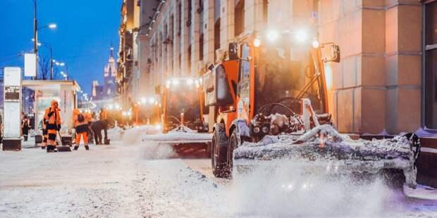 Снег с Онежской будет вывезен до 15 марта