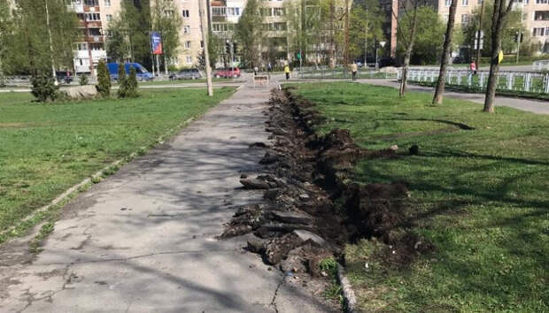 Началось обновление Сортавальского бульвара в Петрозаводске