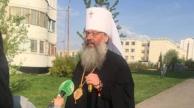 Митрополит Кирилл острельбе вказанской школе: «Живем вочень хрупком мире»