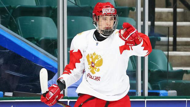 Свечков занял 10-е место врейтинге драфта НХЛ-2021 поверсии Крэйга Баттона