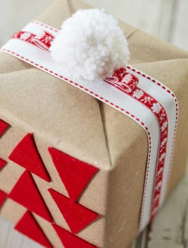 Новогодние крафт упаковки часть 3