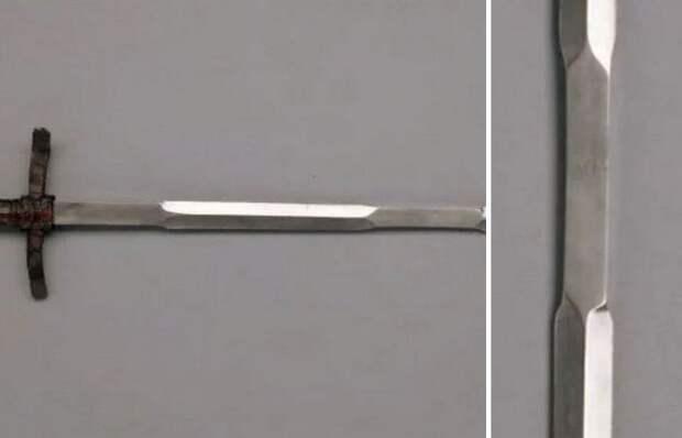 Для чего рыцарскому мечу на лезвии нужна своеобразная «ручка»