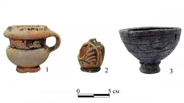 Археологи нашли на Дону погребение скифской амазонки в парадном головном уборе