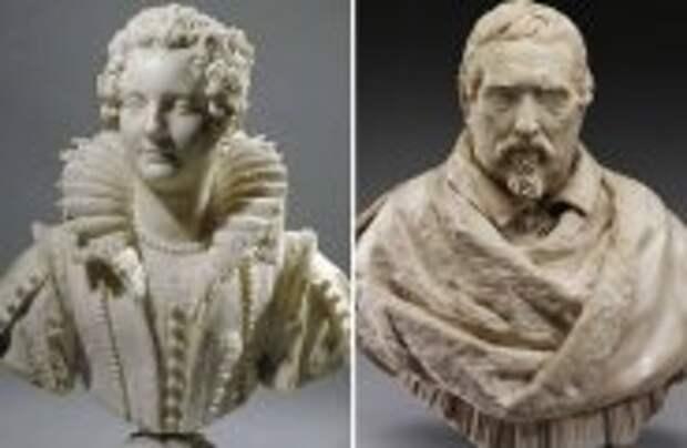Art: Как итальянский скульптор XVII века превращал мрамор в кружева: Джулиано Финелли