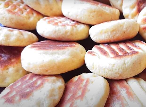 Вкуснейшее печенье на сковороде
