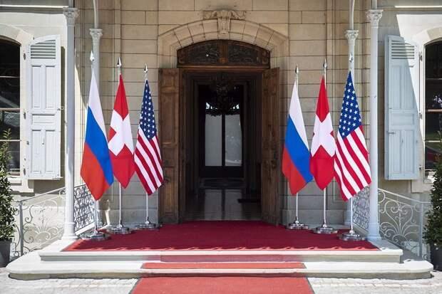 В Женеве начались переговоры Путина и Байдена