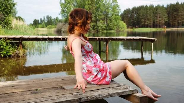 На речке деревенские девушки фото | bilymlyn.eu