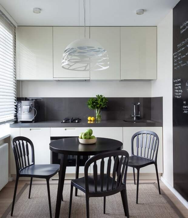 Как неказистую кухню в хрущёвке превратили в комфортную