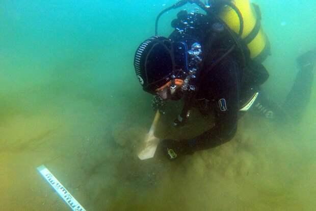 Студент из Севастополя обнаружил старинный корабль в Керченском проливе
