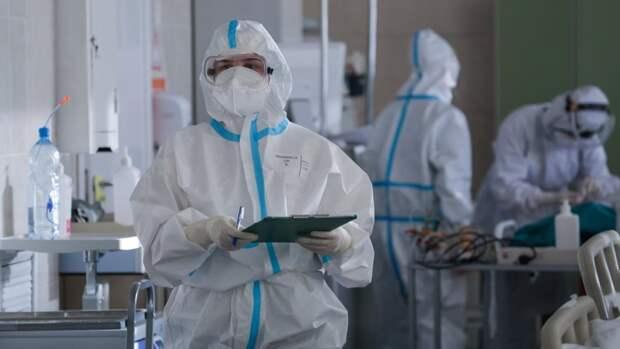 Оперштаб обновил данные по заболеваемости COVID-19 в России