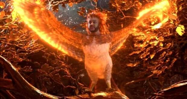 Филипп Киркоров в образе Огненной Жар-птицы становится мемом