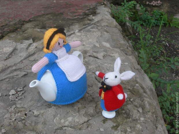 Вязаная грелка на чайник Завтрак в английском стиле, Посуда, Липецк,  Фото №1
