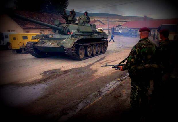 Войска РФ в Косово и два британца