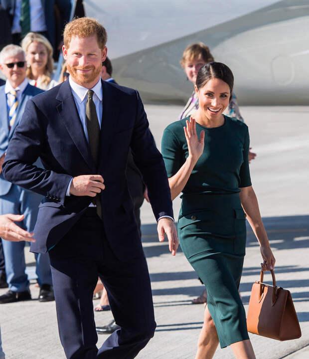 Принц Гарри и Меган Маркл сбежали от своих обязанностей