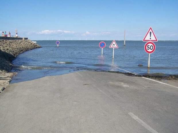 5 мест напланете, которые приливы меняют донеузнаваемости
