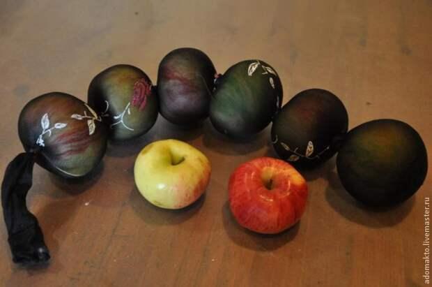 """Валяние для ленивых: """"Шерстяные яблоки"""""""
