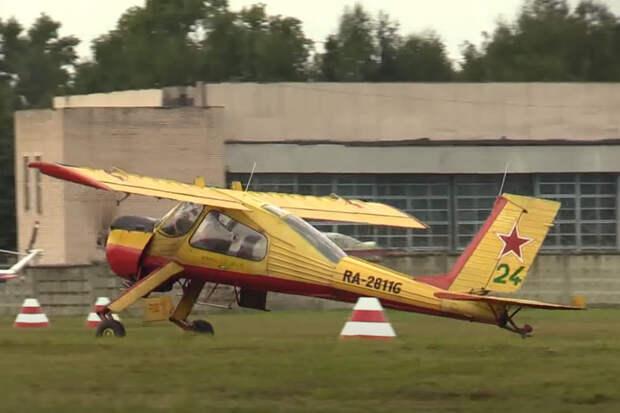 Пилот лёгкого самолёта пострадал при жёсткой посадке в Подмосковье