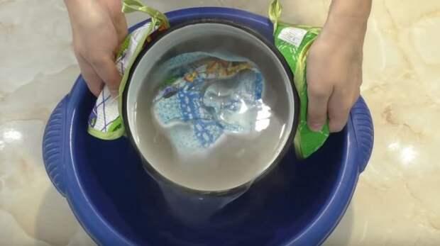 Можно закинуть полотенца. ¦Фото: youtube.com.