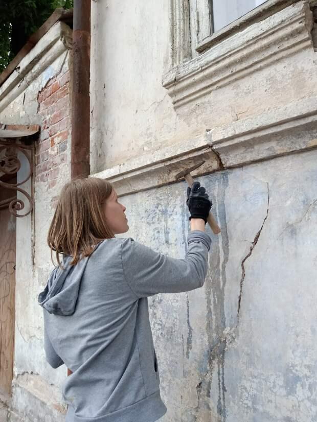 В Тверской области спустя десятилетия открыли парадную дверь старинной усадьбы