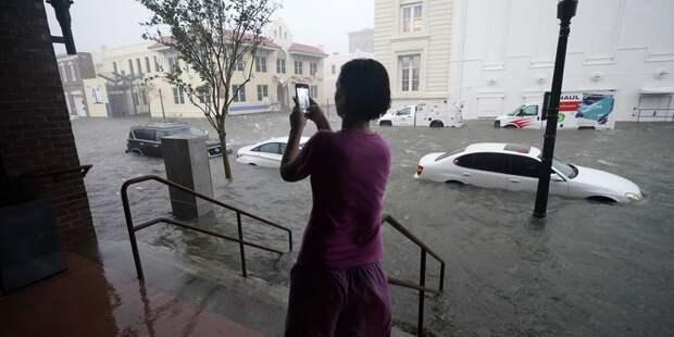 "На юге США бушует мощный ураган ""Салли"" - ТЕЛЕГРАФ"