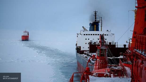 Впервые танкер с СПГ двинулся по СМП в Азию с опозданием