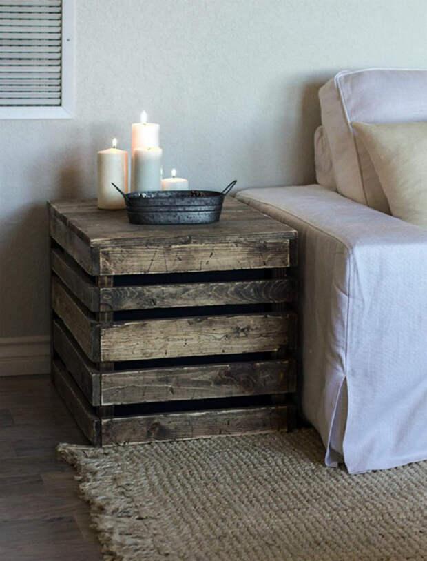 Прикроватная тумба. | Фото: Roomble.com.
