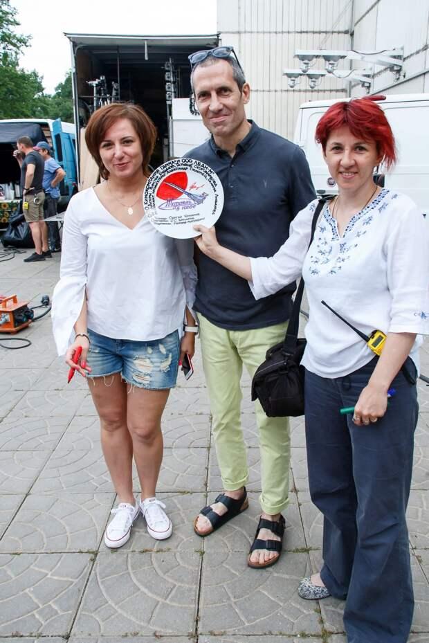 Мария Луговая и Михаил Гаврилов стали лётчиками в мелодраме «Журавль в небе»
