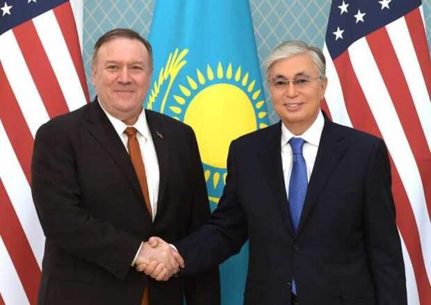 Казахстан будет помогать США бороться сРоссией и Китаем
