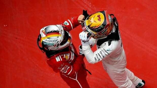 Формула 1: Себастьян Феттель против Льюиса Хэмилтона