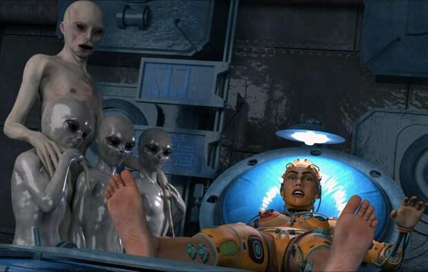 Похищенный инопланетянами