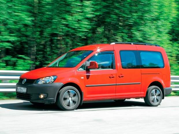 Volkswagen Caddy: каблучок-сундучок
