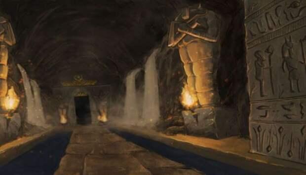 Древний подземный город в Египте скрывают от мира