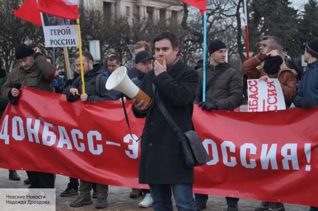 «Передали привет кулаками»: на поддерживающего Донбасс журналиста напали в Петербурге