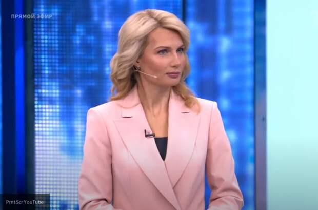 Телеведущая Лосева в прямом эфире одним вопросом вывела из себя чешского эксперта