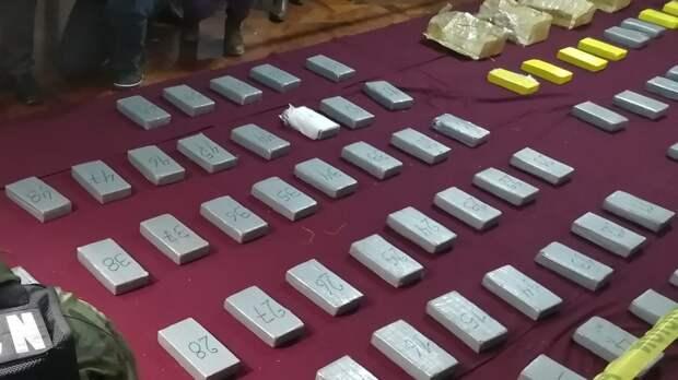 Спецслужбы Панамы изъяли 3 тонны наркотиков у колумбийской мафии