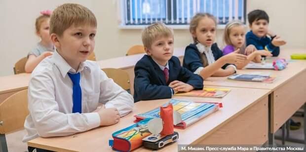 Собянин: Около 100 школ и детсадов будет построено в Москве за три года. Фото: М. Мишин mos.ru