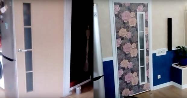 Простейшая и стильная переделка двери за копейки