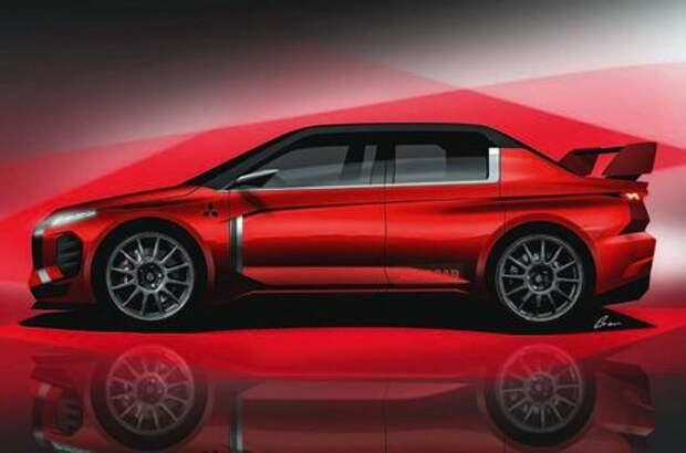 Mitsubishi возрождает легендарный Lancer Evolution