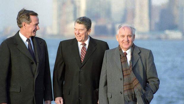 Горбачев. Есть собиратели земли русской, а есть раздаватели
