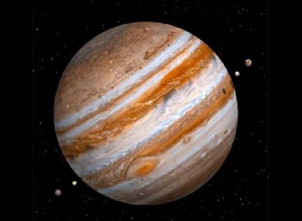 Самые большие планеты. Газовые гиганты