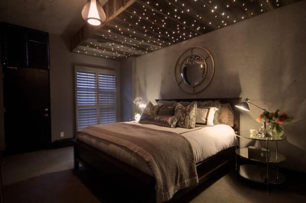 Звёзды в спальне