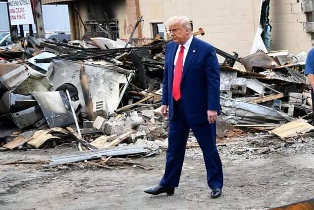 Трамп в Кеноше