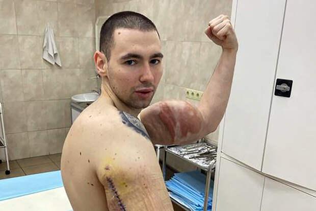 Кирилл Терёшин остался без «рук-базук»