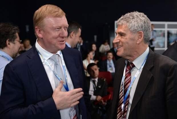 Анатолий Чубайс и Леонид Гозман