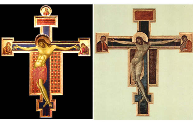 Как разгадали тайну двойного нимба Христа на распятии из Санта-Кроче