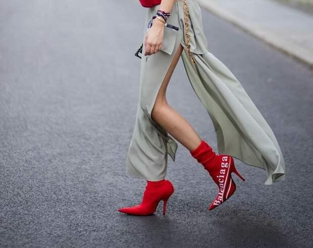 Как подобрать цвет обуви под образ