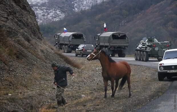 Как российские миротворцы в Карабахе опустили украинских «ястребов» на землю