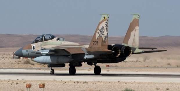 Атака ВВС Израиля на ПВО Сирии стала крупнейшей за последние 35 лет