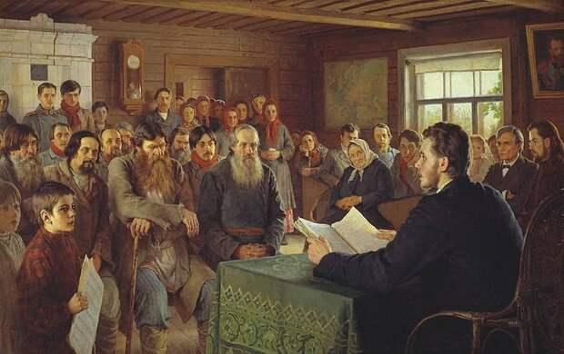 Зачем нужен миф о грамотной царской России